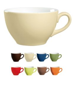 Šálka na kávu s mliekom Allegri Colori