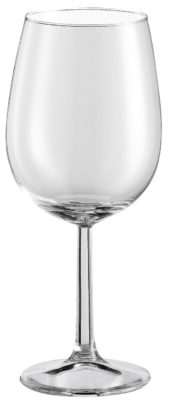 Pohár na červené víno Bouquet s ryskou