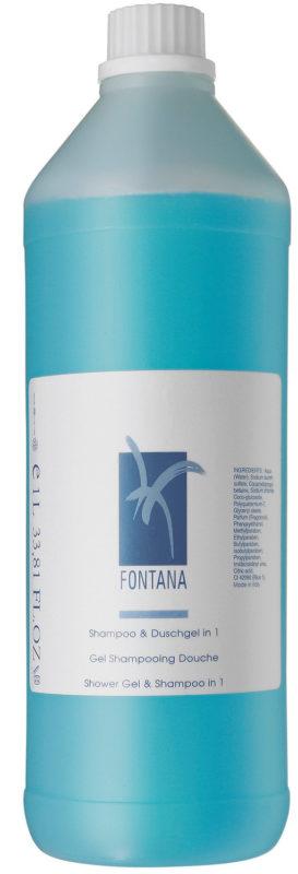 Šampón a sprchovací gél Fontana
