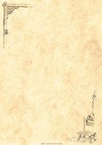 Vkladacie listy Lucida DIN A4 rustikálne
