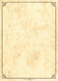 Vkladacie listy Lucida DIN A4 s rámčekom