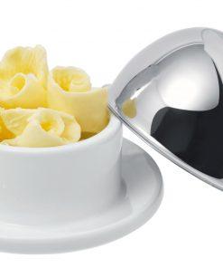 Dóza na maslo porcelánová Adamania