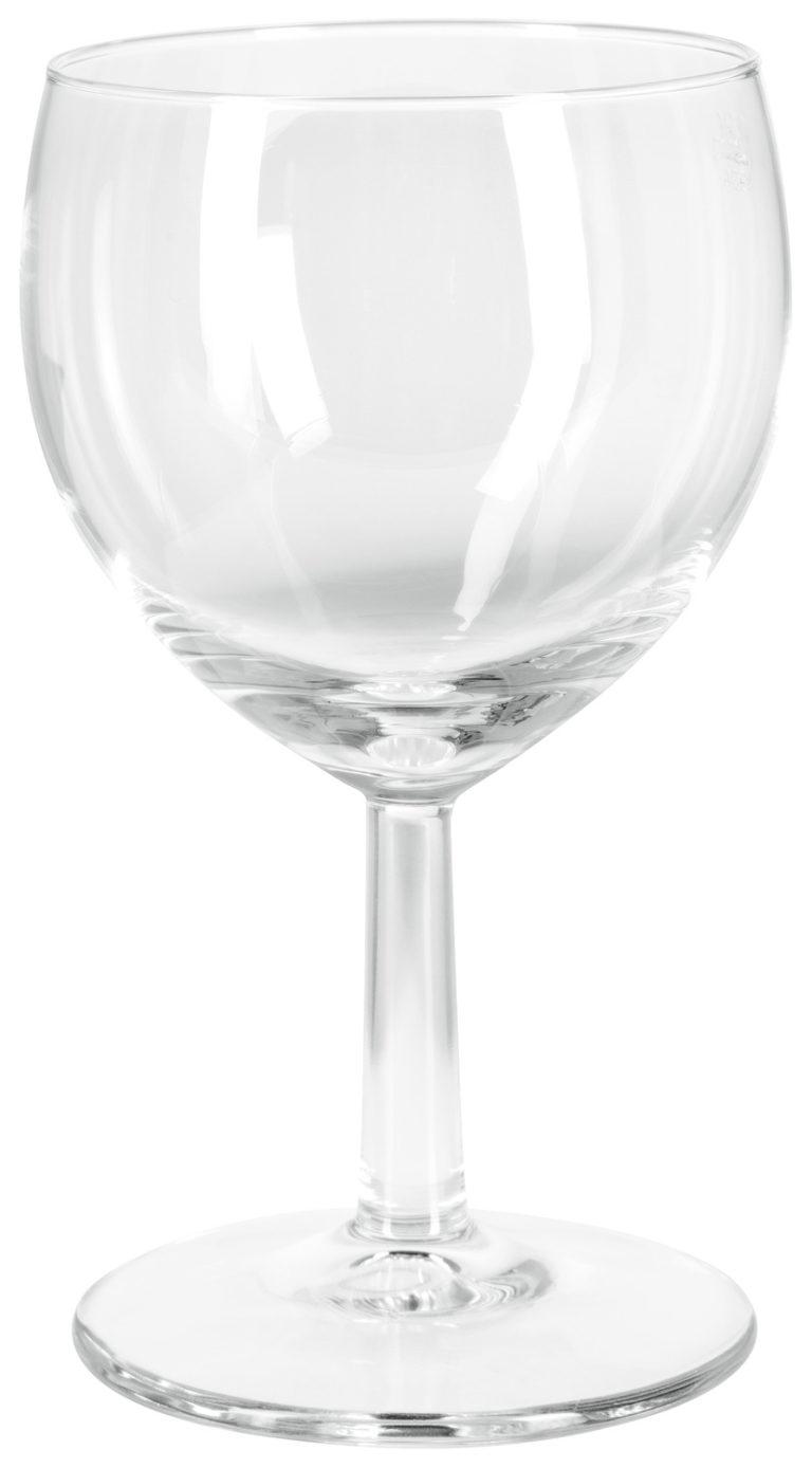 Pohár na biele víno Ballon s ryskou