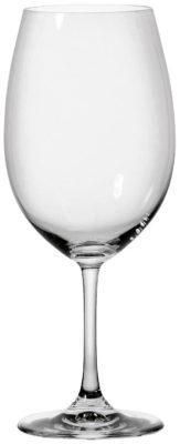 Pohár na červené víno Chateau s ryskou