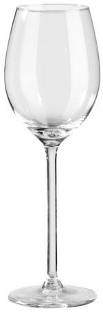 Pohár na biele víno Allure s ryskou