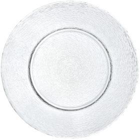 Sklenený tanier Padua jednofarebný