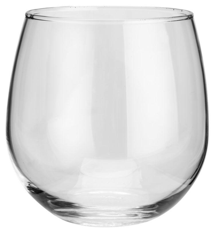 Pohár na červené víno Stemless
