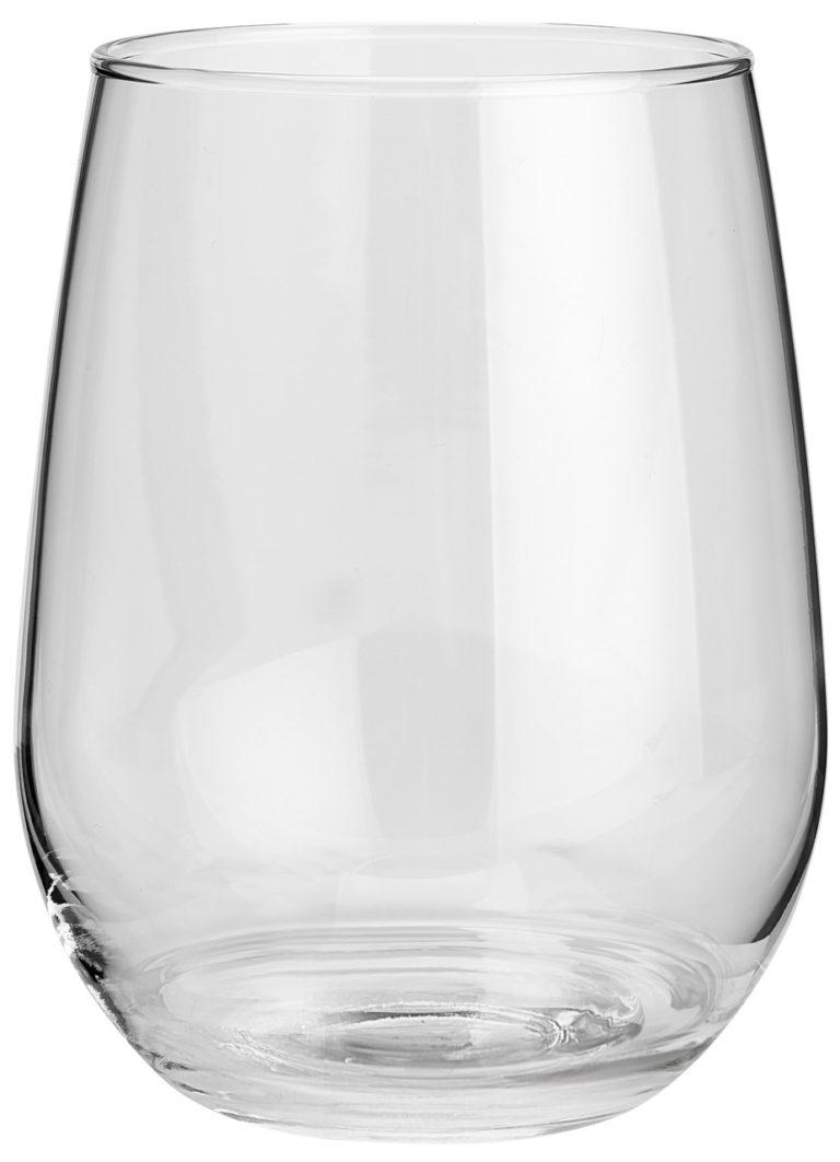Pohár na biele víno Stemless