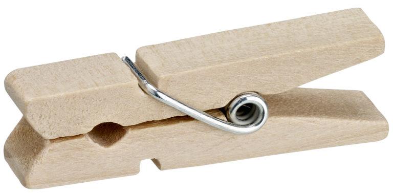 Mini drevený štipec