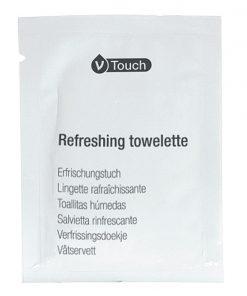 Vlhčené vreckovky V-Touch