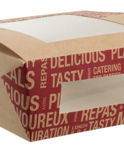 Street Food box na žemľu s okienkom