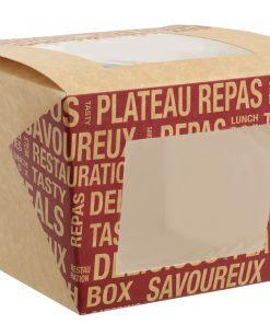 Street Food lunchbox s okienkom