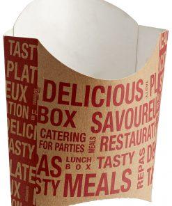 Street Food vrecko na hranolky