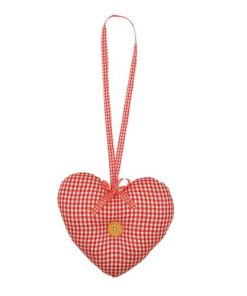 Závesné látkové srdce