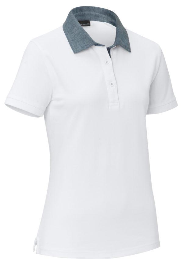 Dámske polo-tričko Cato Chambray