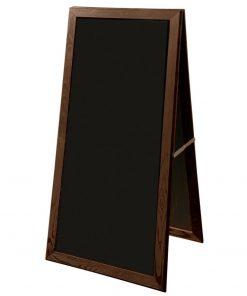 stojan, tabuľa, stojan s dreveným rámom