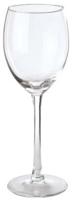 Pohár na biele víno Plaza s ryskou