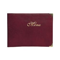 Jedálny lístok z koženky Aragon Menu
