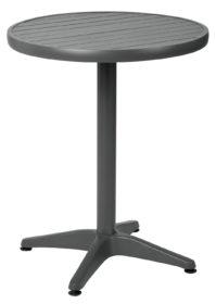 Hliníkový stôl Malvena okrúhly