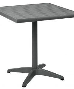 Hliníkový stôl Malvena