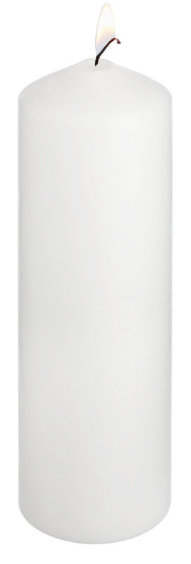 Sviečka Ivory (9x28 cm)