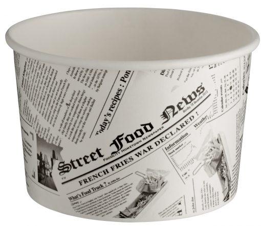 Hrnček s potlačou novín