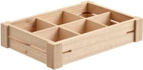 Drevený box