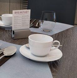 Šálky na kávu ALLEGRI COLORI biele