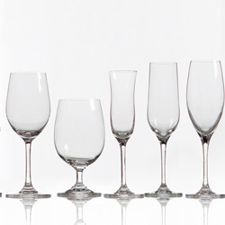 Krištáľová séria pohárov CHATEAU