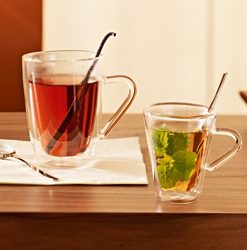 Poháre na kávu/čaj DUOS
