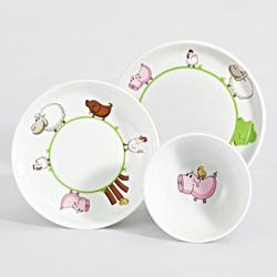 Detská porcelánová séria KLECKERBANDE