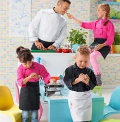 Detské kuchárske oblečenie