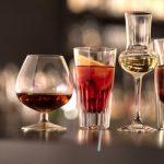 Poháre na tvrdý alkohol