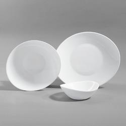 Skloporcelánové taniere TESEO
