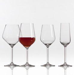 Krištáľová séria pohárov VINZENZA