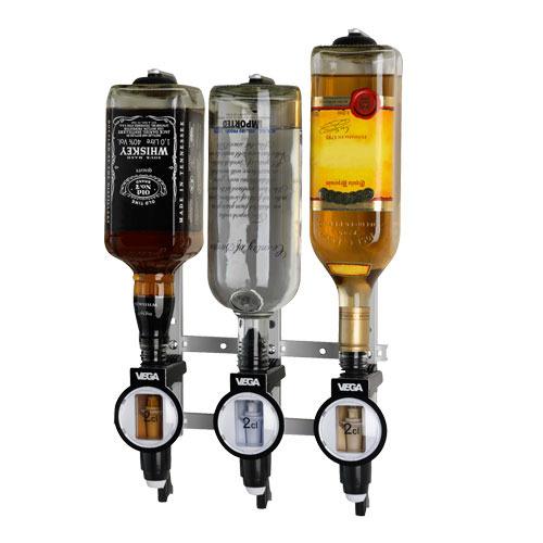 Nástenný držiak (pre 3 fľaše)