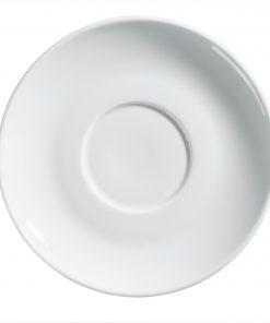 Podšálka pod šálku na kávu/cappucciono Allegri Colori biela
