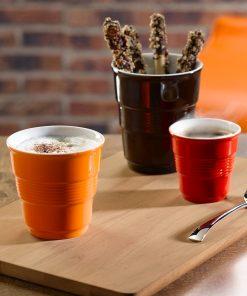 Poháre na kávu EVAN farebné