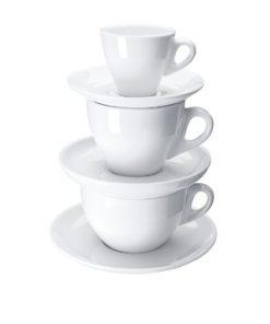 Šálky na kávu JOY biele