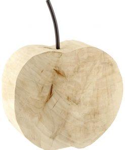 Dekoratívne drevené jabĺko Areba