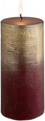Sviečka Rustic Chambray 5.8x12cm