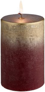 Sviečka Rustic Chambray 6.8x10cm