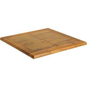 Werzalitová stolová doska Teak štvorcová