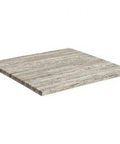 Werzalitová stolová doska Puls štvorcová