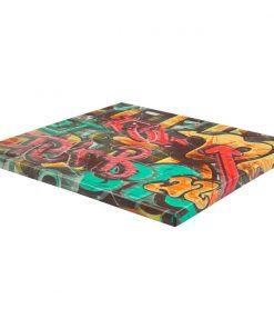Werzalitová stolová doska Graffiti