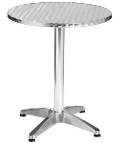 Hliníkový stôl Limona okrúhly