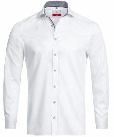 Pánska košeľa PREMIUM Slim Fit s kontrastným golierom