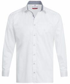 Pánska košeľa PREMIUM Regular Fit s kontrastným golierom