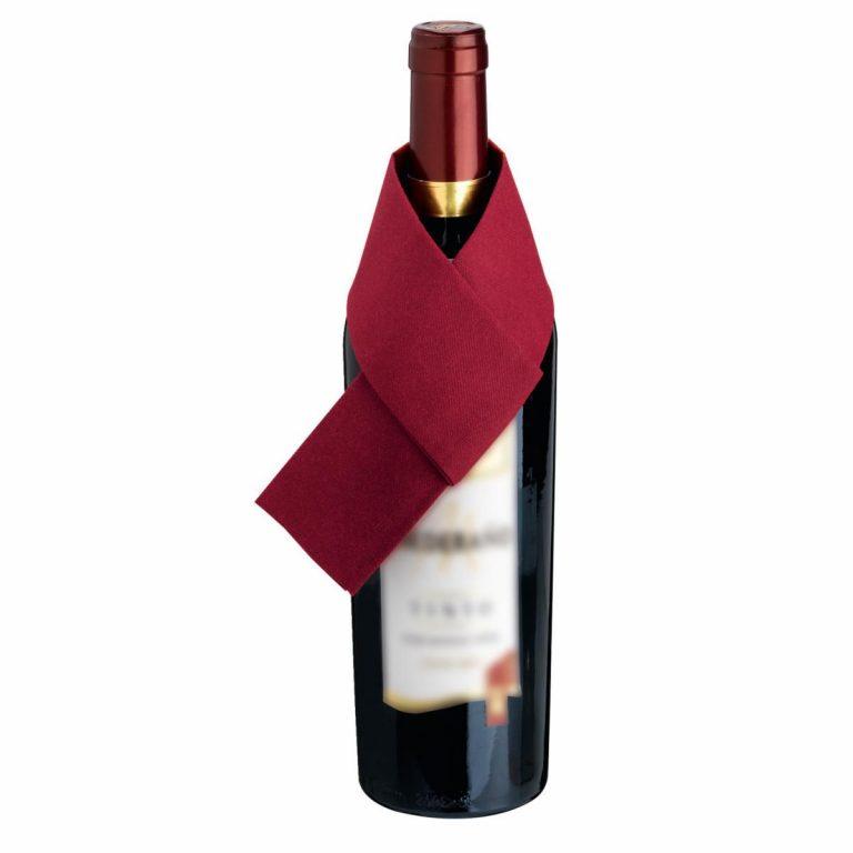 Kravata pre vínovú fľašu