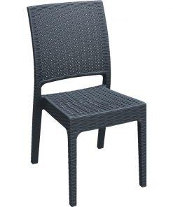 Stolička Melrose bez podrúčok